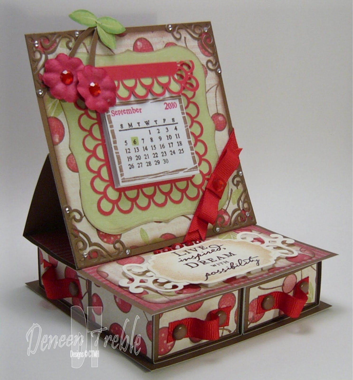A Path of Paper: 4-Drawer Easel Card for H2H - photo#16