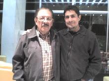 Con Juan Bañuelos