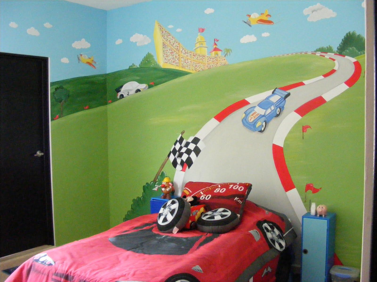 Murales infantiles 08 04 09 for Murales para salones decoracion
