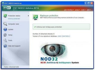ESET NOD32 Anti Virus Vs. 3.0.684 Full + Crack