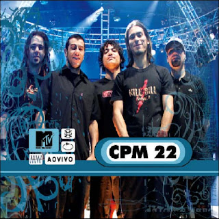 CD CPM 22 - MTV Ao Vivo