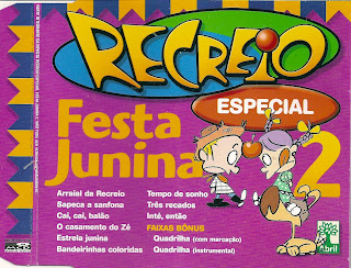 CD Recreio - Festa Junina - Album Vol. 02