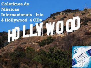 CDs Coletanea de Musicas Internacionais - Isto é Hollywood