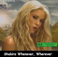 Video Clipe Shakira Whenever, Wherever