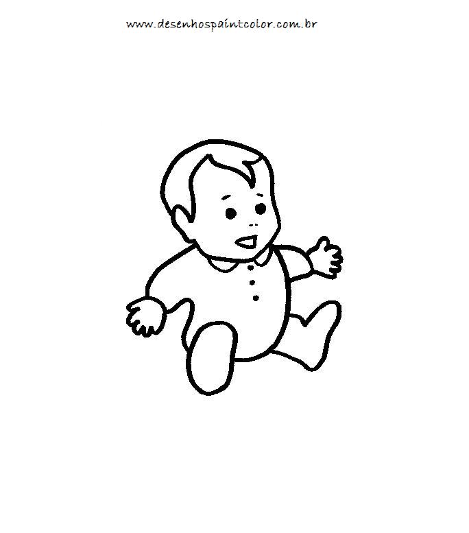 Desenho Bebe Para Colorir Desenhos Infantis Para Colorir