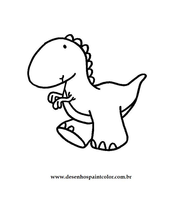 Desenho Do Dinossauro Infantil