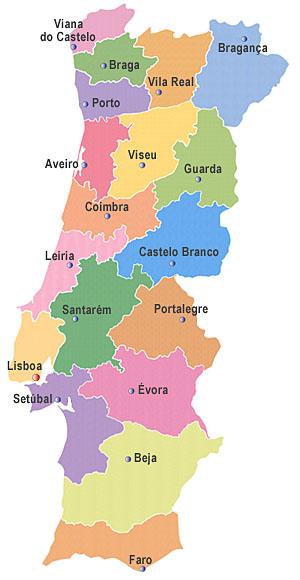 mapa de portugal serta Sertã: Princesa da Beira: Mapa político administrativo: extinguir  mapa de portugal serta