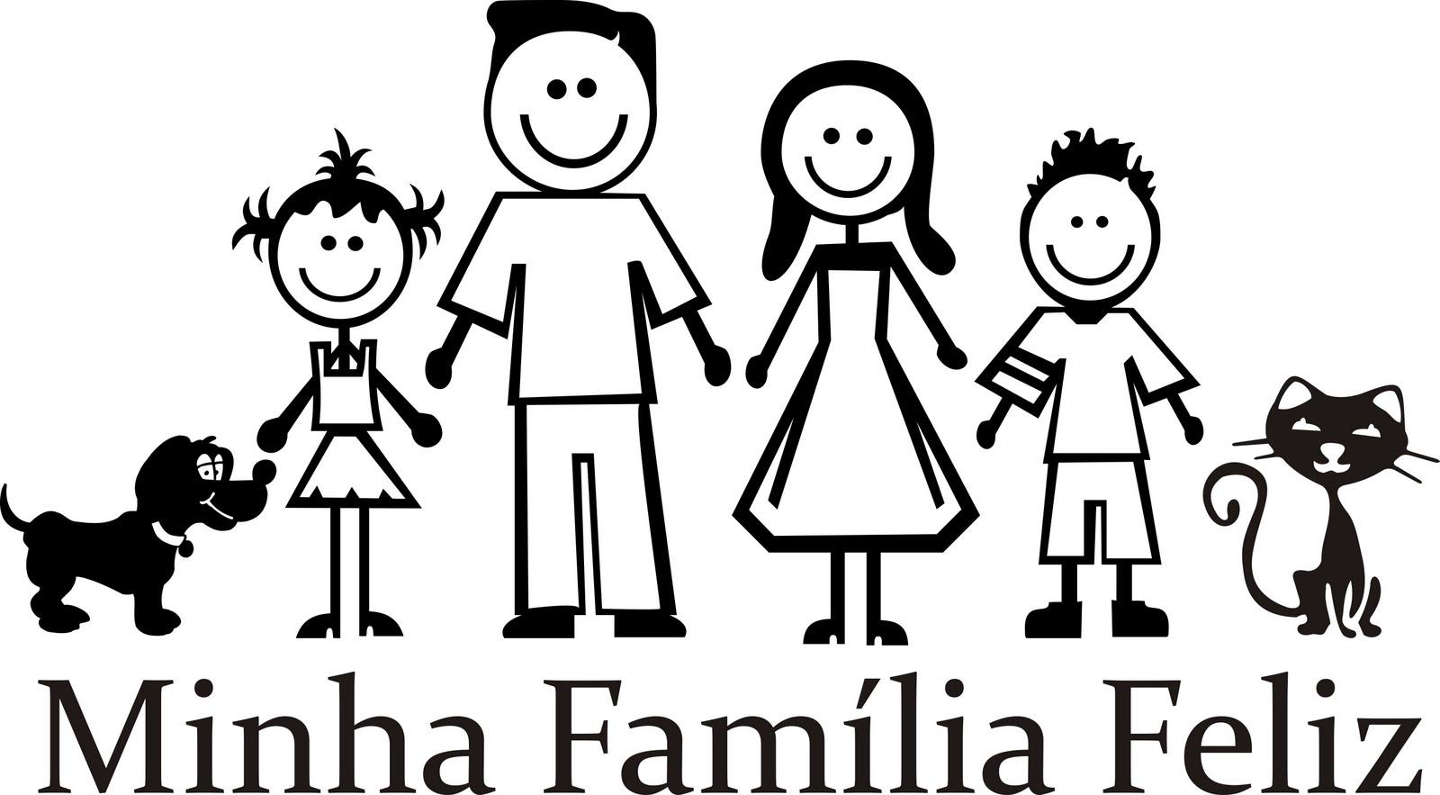 Dibujos De Familia Para Colorear E Imprimir: Dibujos Para Colorear De Una Familia