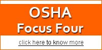 Online OSHA Focus Four – Identify, Prevent and Eliminate work Hazards