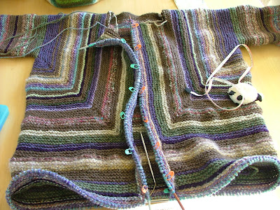 Free Knitting Patterns For Neck Warmers : Kiwi Knits: Buttonholes, and the Adult Surprise Jacket