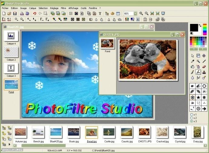 2009 TÉLÉCHARGER PHOTOFILTRE GRATUIT STUDIO