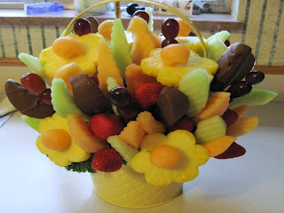 edible fruit basket
