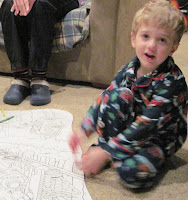 Thomas the Train Coloring Puzzle