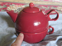 single tea pot set