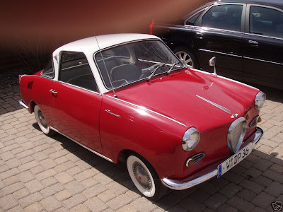 1968 Goggomobil 250 Coupe ebay listing