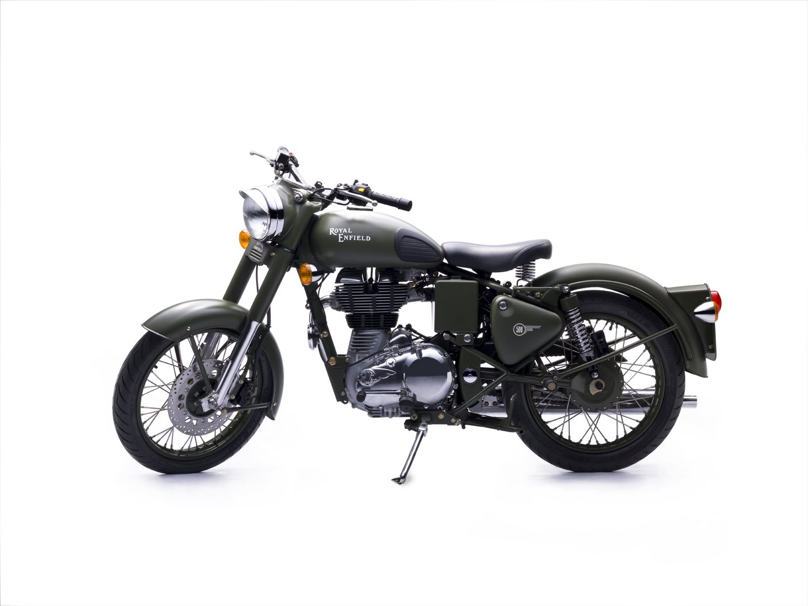 For 2010 The Royal Enfield Bullet Clic Will Be Available In A Battle Green Uniform Tribute To Manufacturer S Long Ociation With Indian Army