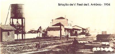 Estação de Vila Real de S. António