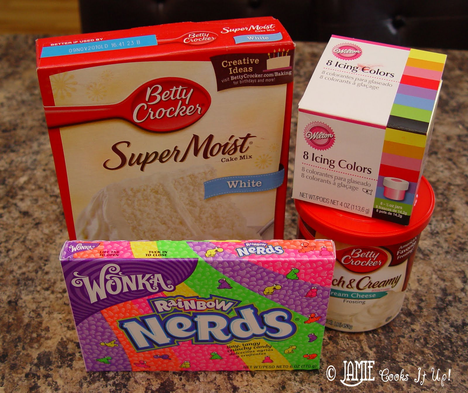 Rainbow Cupcakes | Jamie Cooks It Up - Family Favorite Food ...