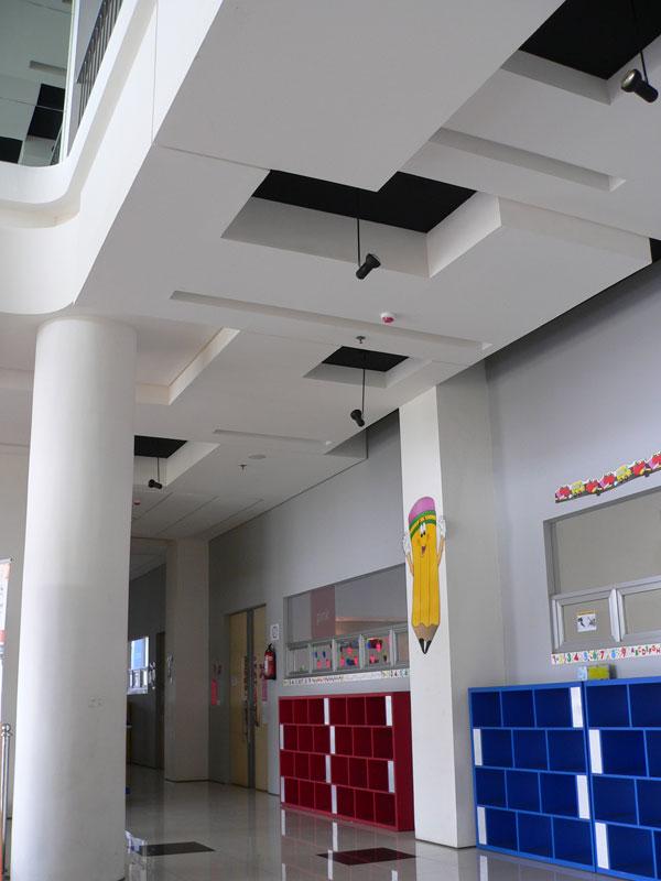 baja ringan plafon model dan dinding partisi gypsum minimalis