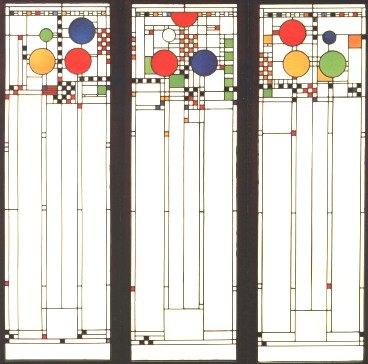 Frank Lloyd Wright Window Designs