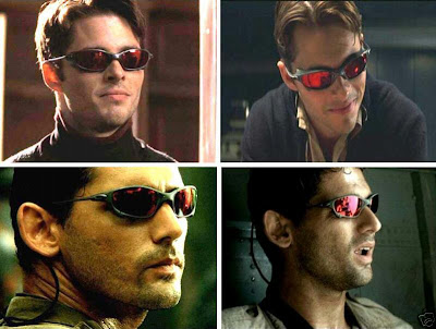 5ba75d2620f We can see Cyclops above using the Juliet frame from Oakley but with Ruby  Quartz lenses on. These are dyed a deep dark red and gave him headaches.