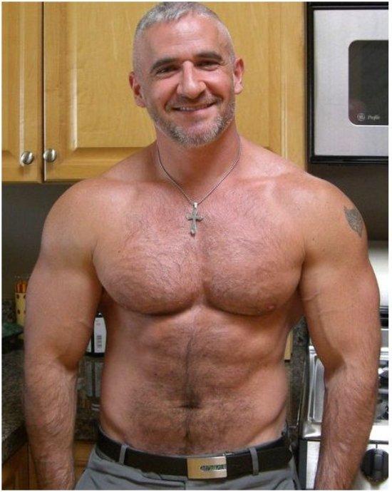 beefy old men sex