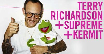 Terry Richardson + Supreme + Kermit