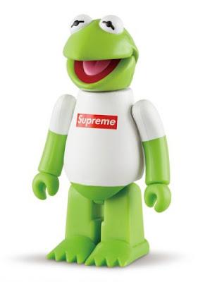 Supreme Kermit the Frog Kubrick figure