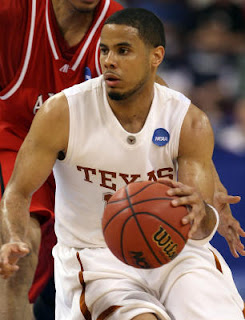 University of Texas Sophmore Guard and First Team All-American D.J. Augustin