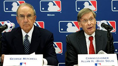 Senator George Mitchell and Commissioner Bud Selig