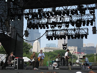 White Rabbits at Lollapalooza 2007