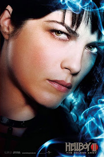 Selma Blair as Liz Sherman in Hellboy II: The Golden Army