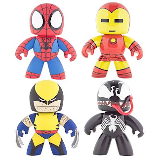 Marvel Legends Mighty Muggs - Series 1: Spider-Man, Iron Man, Wolverine, Venom