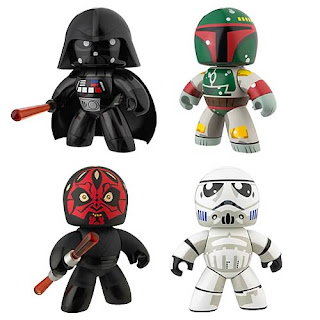 Star Wars Mighty Muggs - Series 1: Darth Vader, Bobba Fett, Darth Maul, Stormtrooper