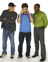 Psych - Corbin Bernsen, James Roday & Dule Hill