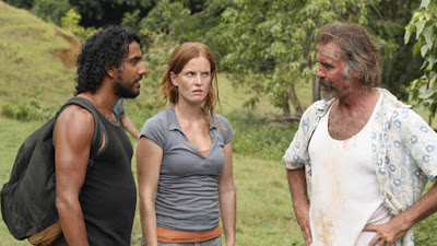 Sayid, Charlotte and Frank