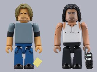 Kubrick Lost Figures Sawyer and Sayid