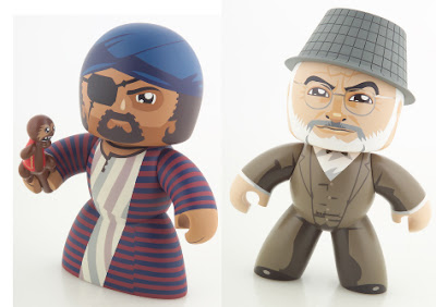 Monkey Man and Professor Henry Jones, Sr. - Indiana Jones Mighty Muggs