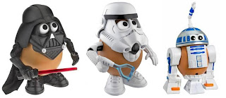 Star Wars Mr. Potato Heads - Darth Tater, Spud Trooper & Artoo-Potatoo