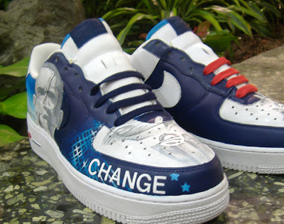 Custom Barack Obama Sneakers