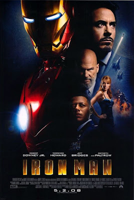 Iron Man Final Theatrical One-Sheet Movie Poster