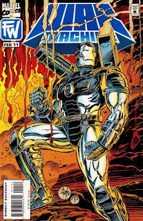 Cover to War Machine #11