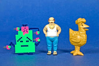 Kidrobot x [adult swim] Vinyl Mini Figure Series - Aqua Teen Hunger Force Figures