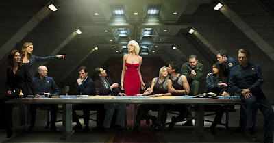 Battlestar Galactica - The Last Supper (Season 4 Teaser Photo)