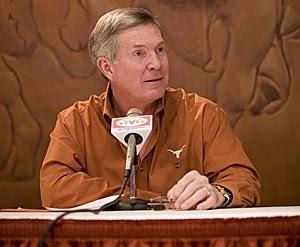 Texas Head Coach Mack Brown