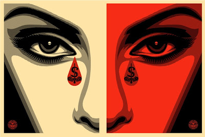 OBEY Giant - Eye Alert Screen Print Set by Shepard Fairey