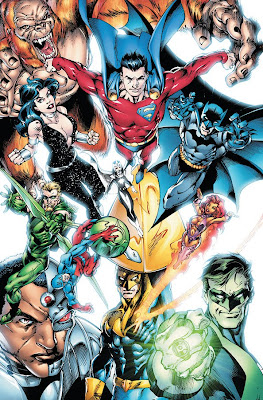 DC Comics - James Robinson's new Justice League of America by Mark Bagley