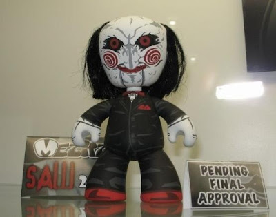 Saw 2 Billy Mez-Itz Vinyl Figure by Mezco Toyz Sneak Peek
