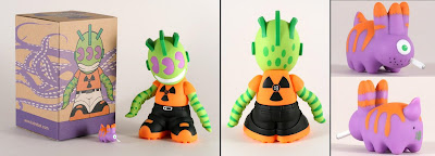 Kidrobot - Kidrobot 18: KidMutant, Mutant Smorkin' Labbit and Packaging by Frank Kozik