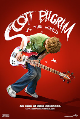 Scott Pilgrim vs. The World Teaser One Sheet Promo Movie Poster - An epic of epic epicness